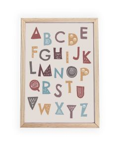 Wild ABC  Framed, Hanging or Print