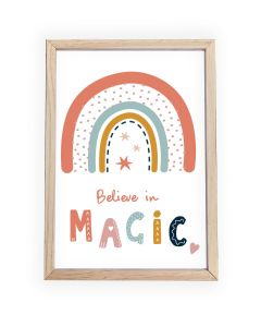 Believe in Magic  Framed, Hanging or Print