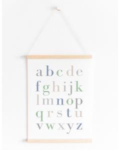 Classic Alphabet Print Bedroom & Nursery Decor