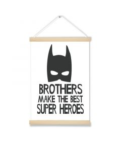 Brothers Super Heros  Art Hanging Picture