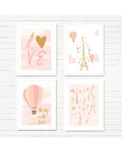 Love of Paris Print Set