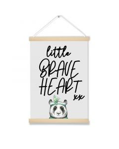 Little Brave Heart Hanging Picture