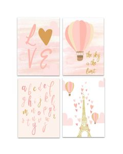 Love of Paris Print Yourself A4