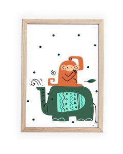 Cheeky Monkey Framed, Hanging or Print