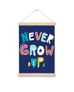 Never grow up Dino Hanging Picture