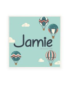 Personalised Name Plaque Door Sign In The Clouds