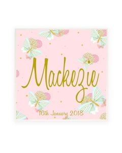Personalised Name Plaque/ Door Sign Butterfly