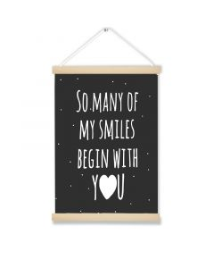 So Many Smile Art Hanging Picture