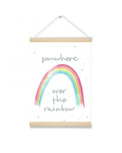 Somwhere over the Rainbow Hanging Picture