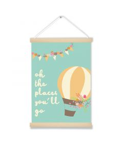 Oh The Places You'll Go  Art Hanging Picture